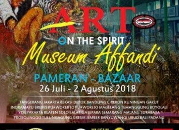 Art on The Spirit Museum Affandi