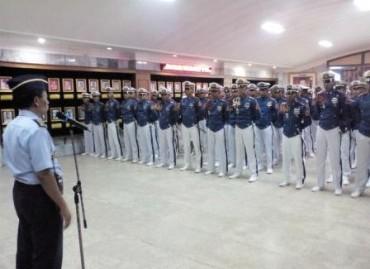 Pra Praspa 2018, Taruna AAU Kunjungi Muspusdirla